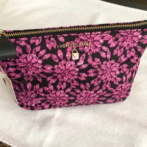 BRAND NEW MK cosmetic pouch